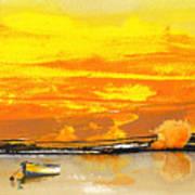 Sunset 24 Art Print