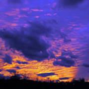 Sunset After Storm Art Print