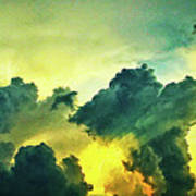 Sunset After The Storm Art Print