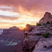 Sunset At Canyonlands Art Print