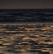 Sunset At Kenai Beach Art Print