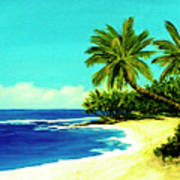 Sunset Beach Art North Shore Of Oahu In Summer #100 Art Print