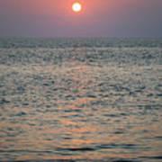 Sunset Beach Cape May New Jersey Art Print