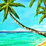 Sunset Beach#370  Art Print