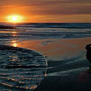 Sunset Capture Art Print