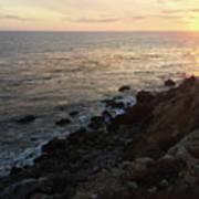 Sunset Cliffs Art Print
