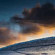 Sunset Clouds Reflect Art Print