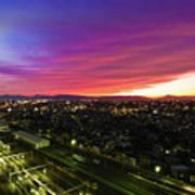 Sunset Colors  Art Print