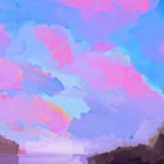Sunset Cove  Art Print
