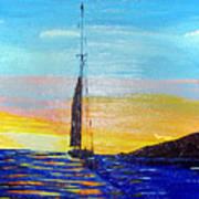Sunset D2 Art Print