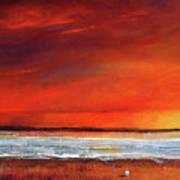 Sunset Dreamin Art Print