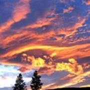 Sunset Extravaganza Art Print