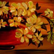 Sunset Floral Art Print