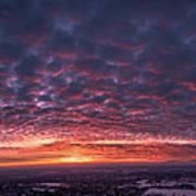 Sunset For Days Art Print