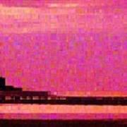 Sunset Hilton Head Art Print