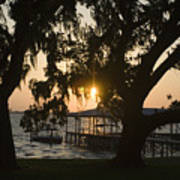 Sunset In Central Florida Art Print