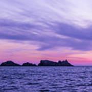 Sunset In Dubrovnik Art Print
