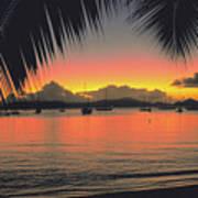 Sunset In Key West Florida Art Print