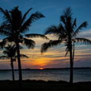 Sunset In Key West Art Print