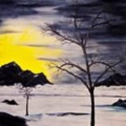 Sunset Kronos 3 Art Print