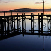 Sunset Magic Bodega Bay California Art Print