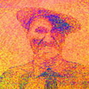 Sunset Man Art Print