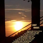 Sunset Moments IIi Art Print