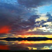 Sunset Of Colors Art Print