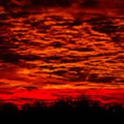 Sunset Of New Mexico Art Print by Savannah Fonner