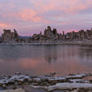 Sunset On Mono Lake Art Print