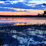 Sunset On Porcupine Lake Art Print