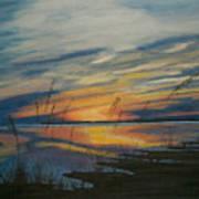 Sunset On St. Andrew Art Print