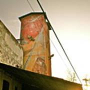 Sunset On The Mill Art Print