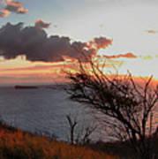 Sunset Over Lanai 2 Art Print