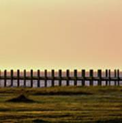 Sunset Over Pamlico Sound Art Print