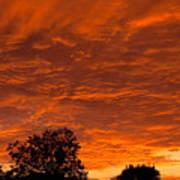 Sunset Over Simi Art Print