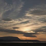 Sunset Over Sligo Bay Art Print