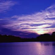Sunset Over The Intercoastal Art Print