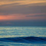 Sunset Paddle Art Print