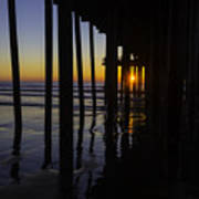 Sunset Pismo Beach Art Print
