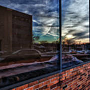 Sunset Reflected Art Print