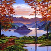 Sunset Reverie Art Print