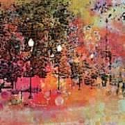 Sunset Saunter Art Print