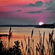 Sunset Scene Art Print