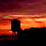 Sunset Se Art Print