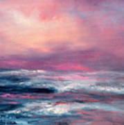 Sunset Sea Art Print