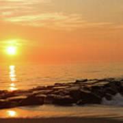 Sunset Shore Art Print