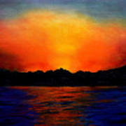 Sunset Sinai Art Print