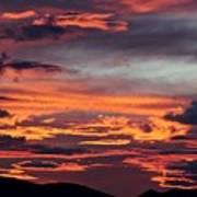 Sunset Skies 052814d Art Print