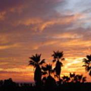 Sunset Sky Over Baja Art Print